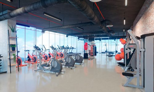 gym - Generation Tower - Empresas Bern